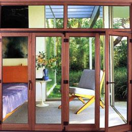 木铝复合门