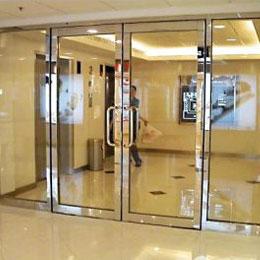 商场不锈钢玻璃门