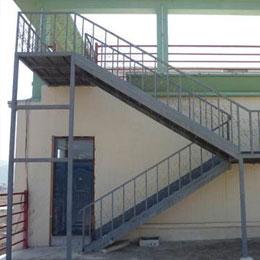 厂房钢结构楼梯