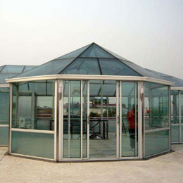 彩钢结构阳光房