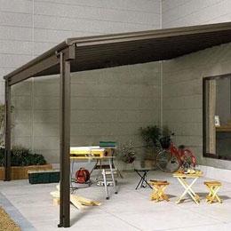 别墅遮阳雨棚