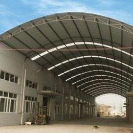 大型钢结构厂房雨棚